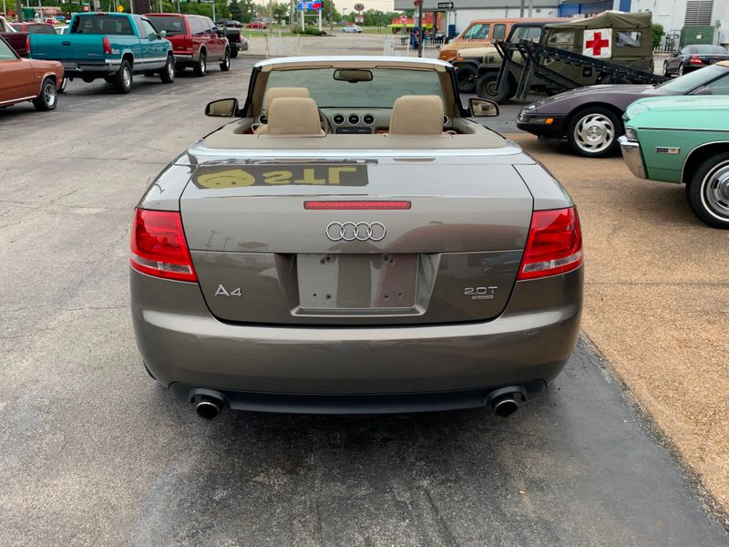 2008 Audi A4 20T Convertible  St Charles Missouri  Schroeder Motors  in St. Charles, Missouri