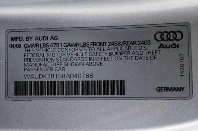 2008 Audi A5 S LINE, PREMIUM PLUS, 3.2L Reseda, CA 38