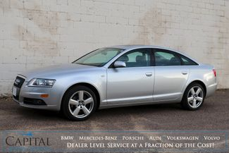 "2008 Audi A6 3.2 Quattro AWD Luxury-Sport Sedan w/Premium Pkg, Heated Seats, Moonroof, BOSE Audio & 18"" Rims in Eau Claire, Wisconsin 54703"