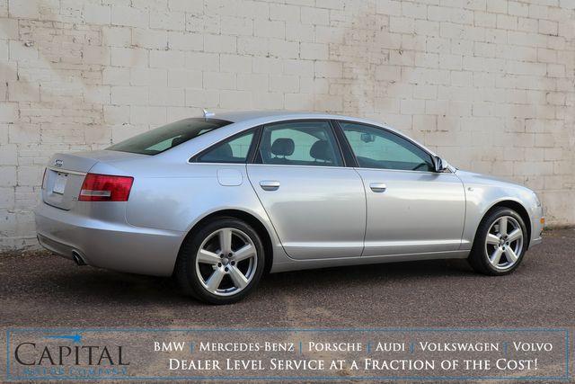 """2008 Audi A6 3.2 Quattro AWD Luxury-Sport Sedan w/Premium Pkg, Heated Seats, Moonroof, BOSE Audio & 18"""" Rims in Eau Claire, Wisconsin 54703"""