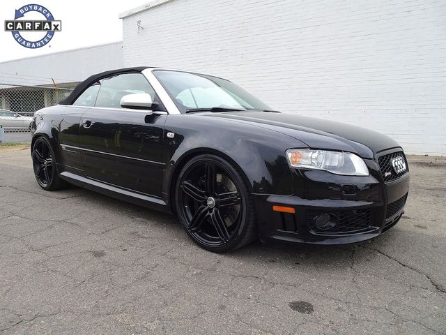 2008 Audi RS 4 4.2L Cabriolet Madison, NC 1