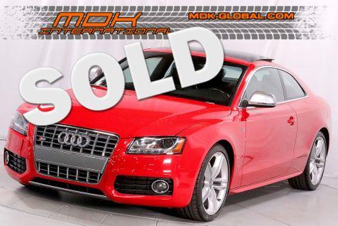 2008 Audi S5 Manual - tech PKG - navigation in Los Angeles