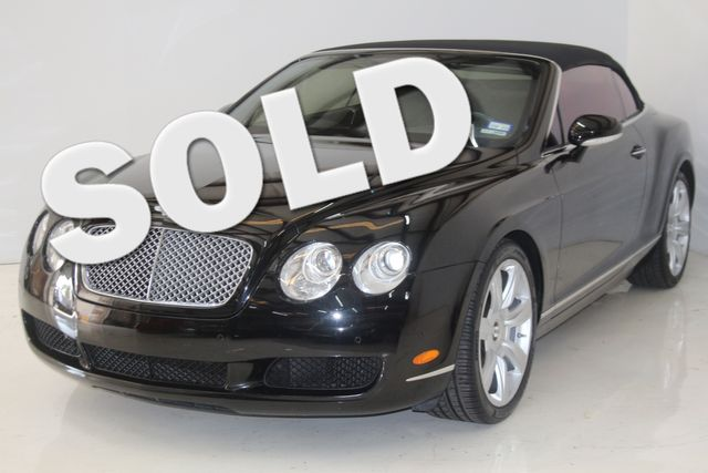 2008 Bentley Continental GTC Houston, Texas 0