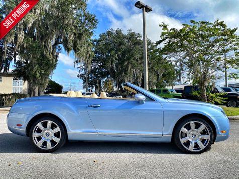 2008 Bentley Continental GTC GTC SILVER LAKE/MAGNOLIA  in Plant City, Florida