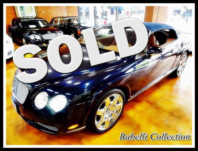 2008 Bentley Continental GTC MULLINER PACKAGE ONLY 6000 MILES La Jolla, California 0