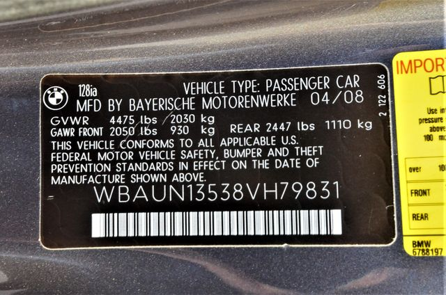 2008 BMW 128i Reseda, CA 21