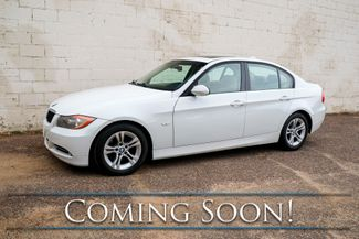 2008 BMW 328i Luxury Sports Car w/Moonroof, Comfort Access, Memory Seat & Hi-Fi Audio System in Eau Claire, Wisconsin 54703