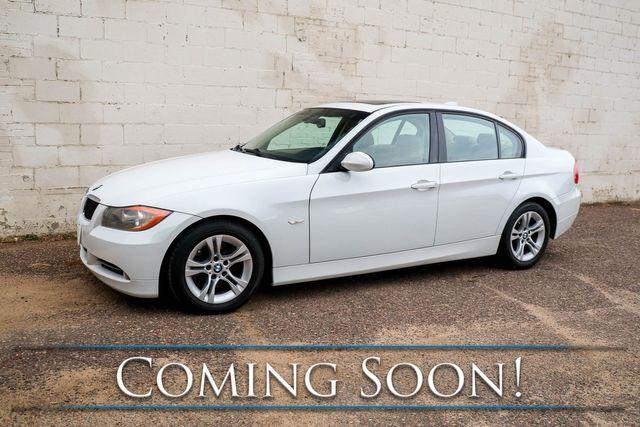 2008 BMW 328i Luxury Sports Car w/Moonroof, Comfort Access, Memory Seat & Hi-Fi Audio System