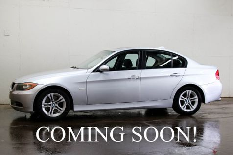 2008 BMW 328xi xDrive AWD Sport Sedan w/Moonroof, Heated Seats, Memory Seat and Hi-Fi Sound System in Eau Claire