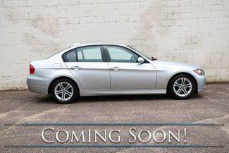 2008 BMW 328xi xDrive AWD Luxury-Sport Sedan w/Heated Seats, Moonroof, Premium Package & Hi-Fi Audio in Eau Claire, Wisconsin 54703