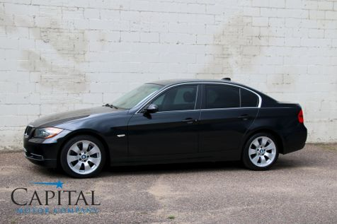 2008 BMW 335xi xDrive AWD Turbo w/Navigation, Heated Sport Seats, Moonroof and Logic7 Audio in Eau Claire