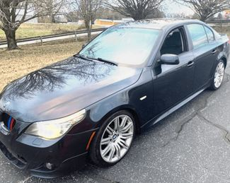 2008 BMW 5-Series-SHOWROOM LOADED BHPH OFFERED 550i-LOW MILES in Knoxville, Tennessee 37920