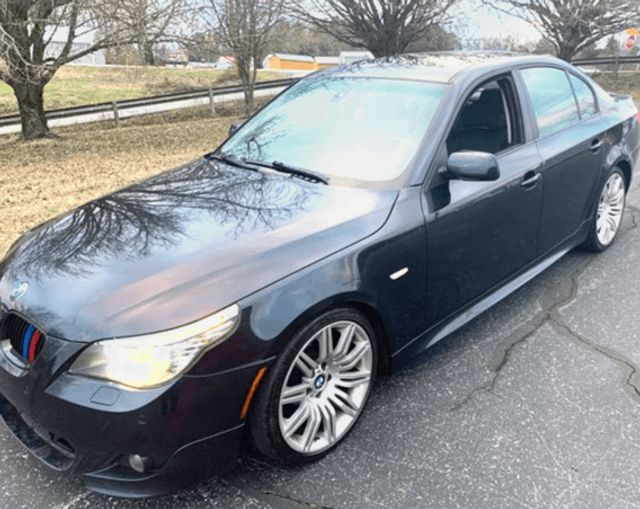 2008 BMW 5-Series-SHOWROOM LOADED BHPH OFFERED 550i-LOW MILES
