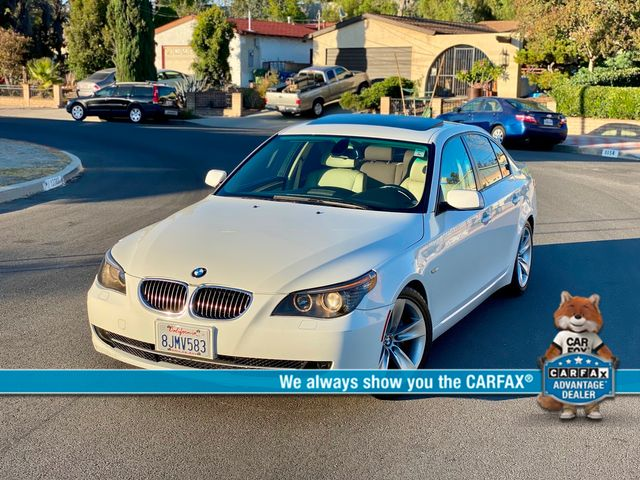 2008 BMW 528i SEDAN SPORT PKG AUTOMATIC SERVICE RECORDS NEW TIRES in Van Nuys, CA 91406