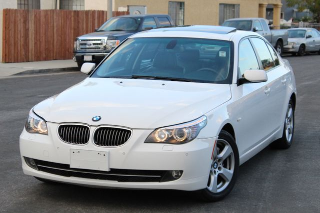 2008 BMW 535xi AUTOMATIC NAVIGATION PARKING SENSORS SERVICE RECORDS in Van Nuys, CA 91406