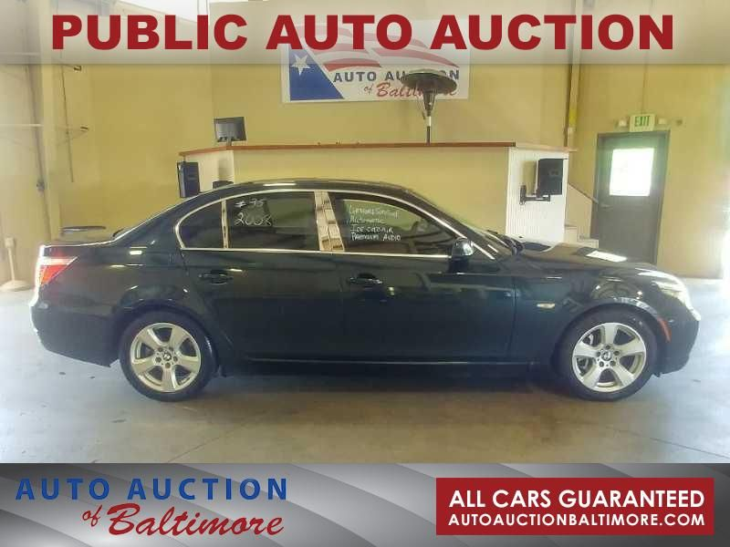 2008 BMW 535xi    JOPPA, MD   Auto Auction of Baltimore  in JOPPA MD