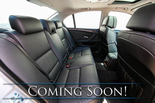 2008 BMW 535xi xDrive AWD Sport Sedan w/Nav, Cold Weather Pkg, Premium Pkg, Sport Pkg & Logic7 Audio in Eau Claire, Wisconsin 54703