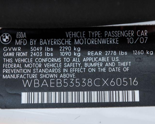2008 BMW 650i Burbank, CA 34