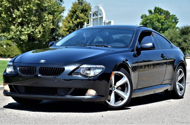 2008 BMW 650i COUPE - MANUAL - SPORT PKG - NAVI