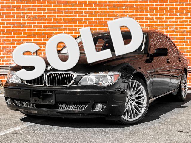 2008 BMW 750i Burbank, CA 0