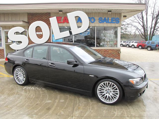 2008 BMW 750i 4-DR in Medina, OHIO 44256