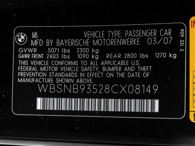 2008 BMW M Models M5 Burbank, CA 37
