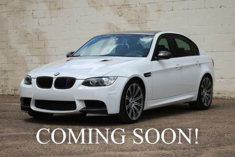 2008 BMW M3 Luxury-Performance Sedan w/414HP V8, Technology Pkg, Heated Seats, Moonroof, Carbon Fiber Accents in Eau Claire