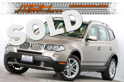 2008 BMW X3 3.0si - 1 owner - only 47K miles - service records in Los Angeles