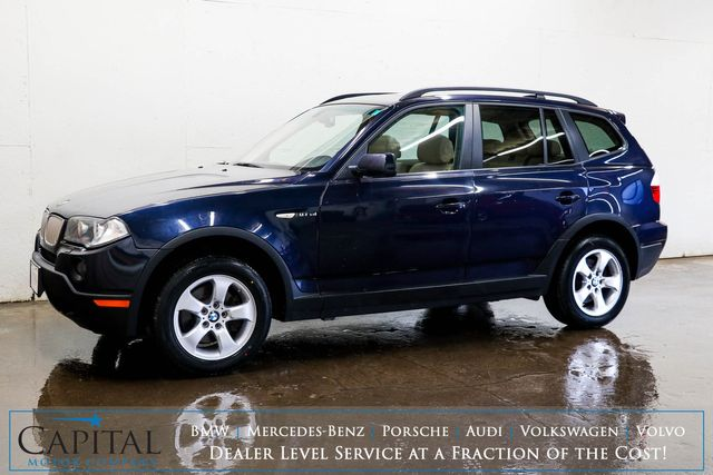 2008 BMW X3 3.0si xDRIVE AWD Crossover w/Panoramic Moonroof, Heated Seats & 10-Speaker Audio System in Eau Claire, Wisconsin 54703