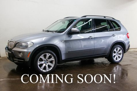 2008 BMW X5 xDrive48i AWD V8 Sport Pkg SUV w/3rd Row Seats, Navigation, Heated Seats, Panoramic Roof, 19