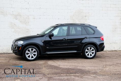 2008 BMW X5 xDrive AWD V8 Luxury Sport SUV w/Technology Pkg, Heated F/R Seats, Keyless Start & Sport Pkg in Eau Claire