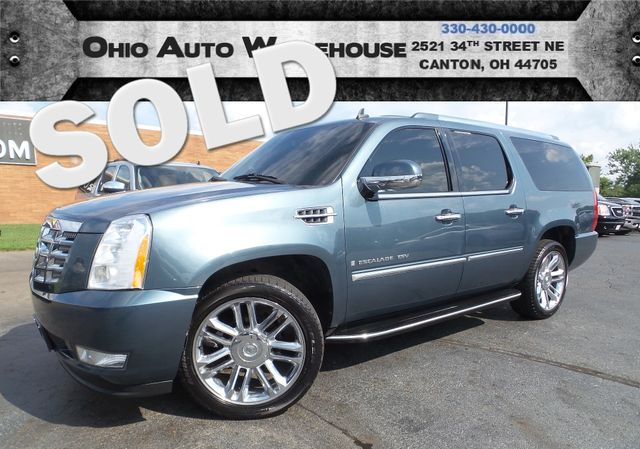 2008 Cadillac Escalade ESV AWD Navi Tv/DVD Sunroof Cln Carfax We Finance | Canton, Ohio | Ohio Auto Warehouse LLC in  Ohio