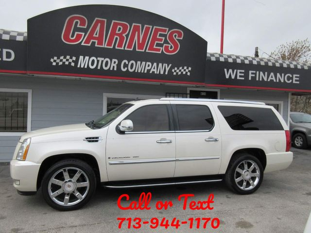 2008 Cadillac Escalade ESV south houston, TX