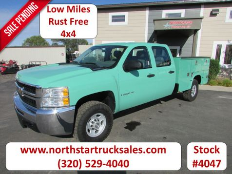 2008 Chevrolet 2500HD 4x4 Crew-Cab Service Utility Truck  in St Cloud, MN