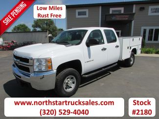 2008 Chevrolet 3500 2x4 Crew-Cab Service Utility Truck in St Cloud, MN