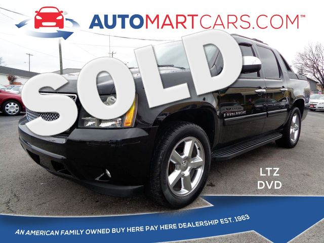 2008 Chevrolet Avalanche LTZ   Nashville, Tennessee   Auto Mart Used Cars Inc. in Nashville Tennessee
