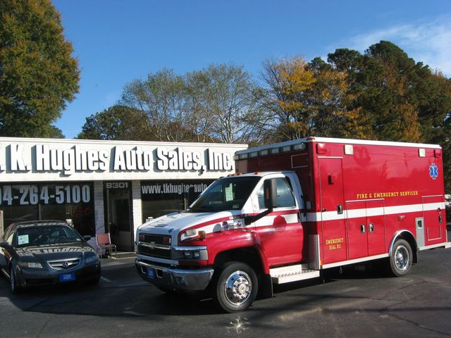 2008 Chevrolet CC4500 Ambulance C4V042 Richmond, Virginia 0