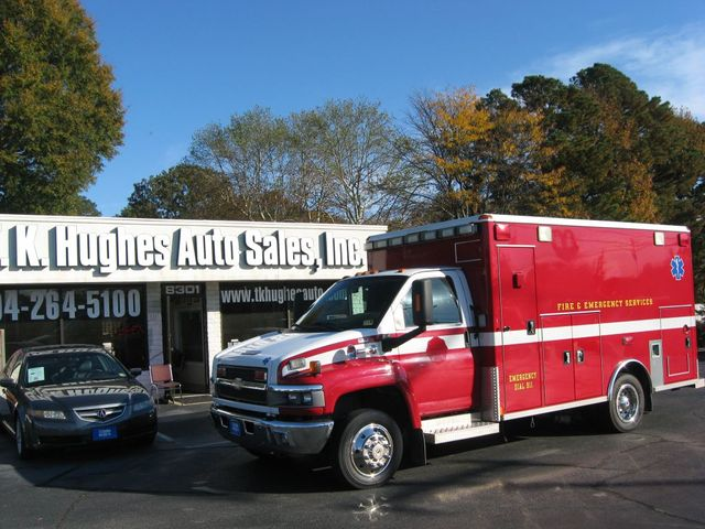 2008 Chevrolet CC4500 Ambulance C4V042 Richmond, Virginia 0