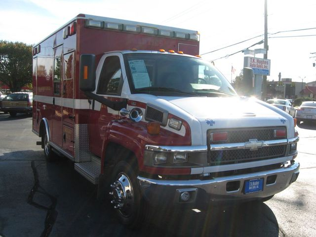 2008 Chevrolet CC4500 Ambulance C4V042 Richmond, Virginia 2