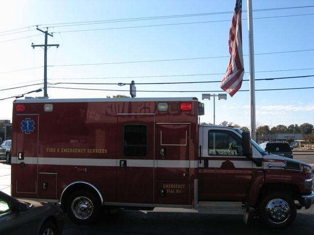 2008 Chevrolet CC4500 Ambulance C4V042 Richmond, Virginia 3
