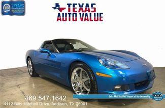 2008 Chevrolet Corvette Jet Stream Blue, Nav, Heads Up Display in Addison TX, 75001