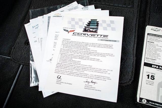 2008 Chevrolet Corvette Indy 500 Pace Car in , TX 75006