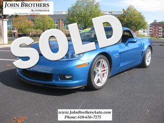 2008 Sold Chevrolet Corvette Z06 Conshohocken, Pennsylvania
