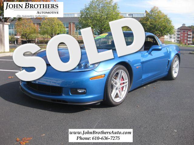 2008 Sold Chevrolet Corvette Z06 Conshohocken, Pennsylvania