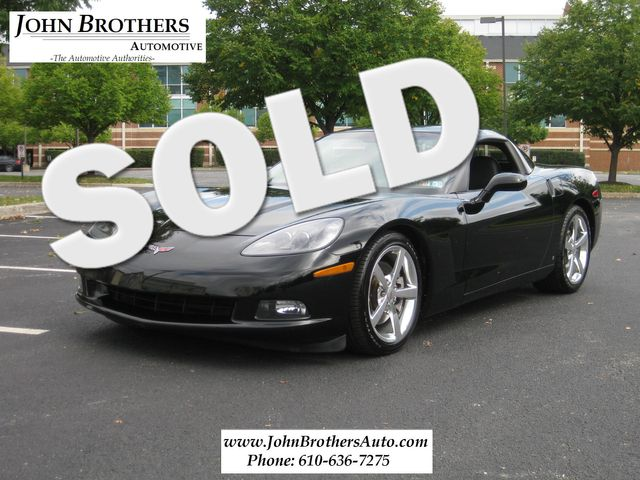 2008 Sold Chevrolet Corvette Conshohocken, Pennsylvania