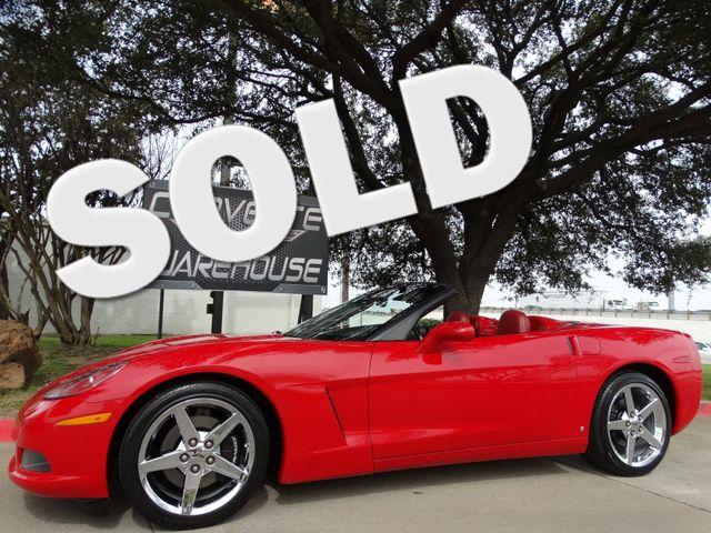 2008 Chevrolet Corvette Convertible 3LT, Auto, Power Top, Chromes, NICE!   Dallas, Texas   Corvette Warehouse  in Dallas Texas