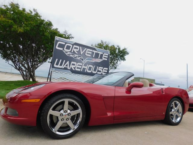 2008 Chevrolet Corvette Convertible NPP, Auto, Chromes, Only 29k in Dallas, Texas 75220