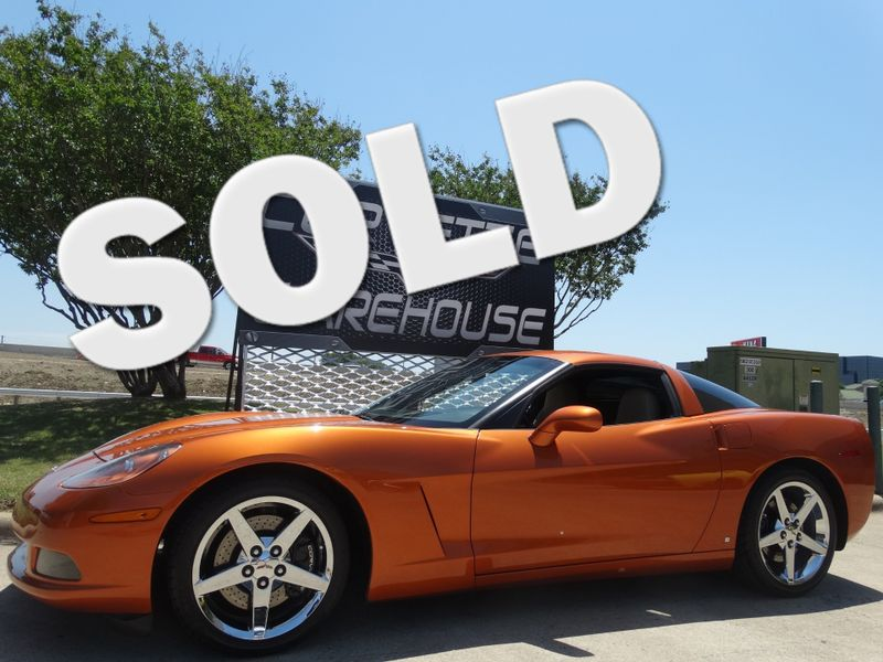 2008 Chevrolet Corvette Coupe 3LT, F55, Auto, Chrome Wheels 49k! | Dallas, Texas | Corvette Warehouse