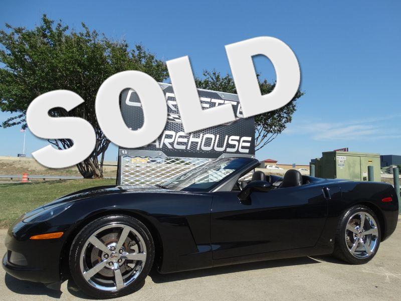 2008 Chevrolet Corvette Convertible 3LT, F55, NAV, NPP, Auto, Chromes 48k!   Dallas, Texas   Corvette Warehouse