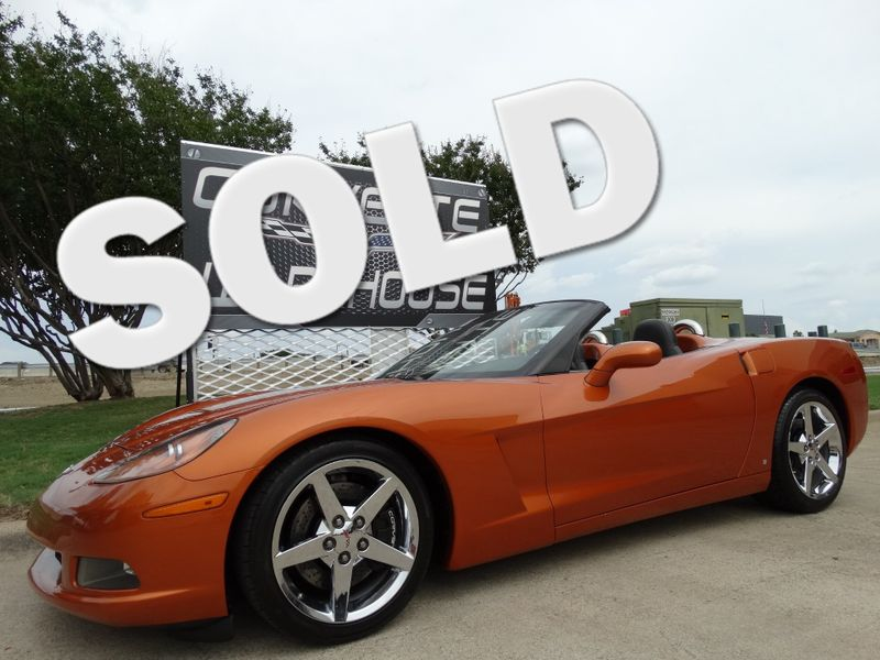 2008 Chevrolet Corvette Convertible 3LT, Manual, Z51, NPP, Chromes 35k! | Dallas, Texas | Corvette Warehouse